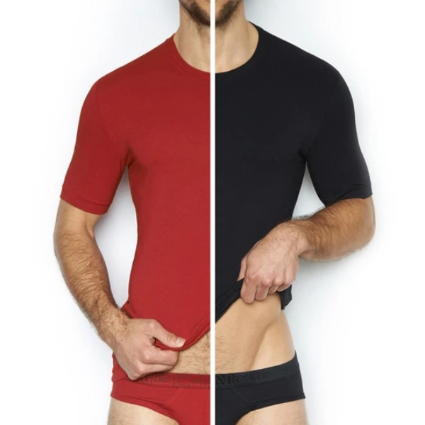 Multipack Stretch Crew Neck T-Shirts
