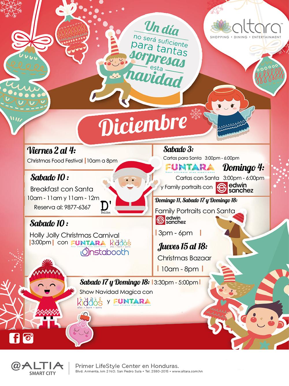 Altara's Christmas Calendar