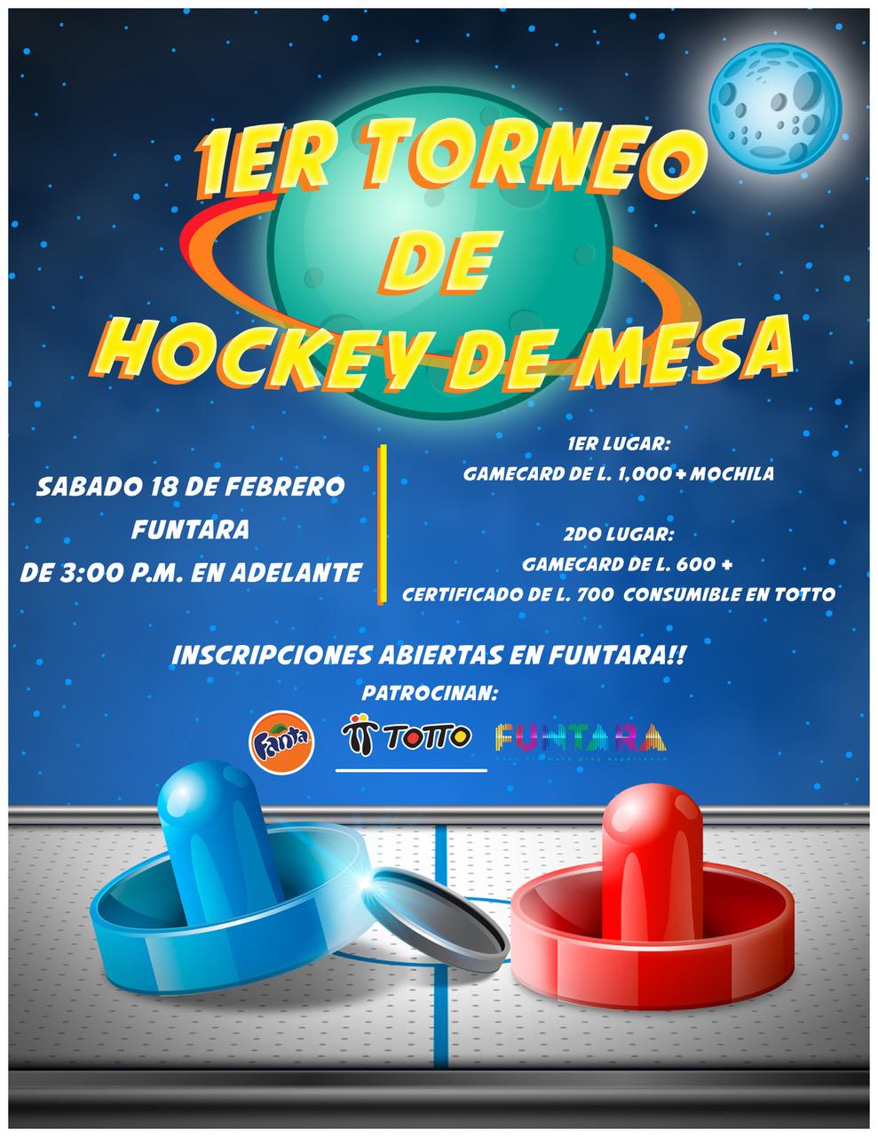 Torneo de Hockey de Mesa en Funtara