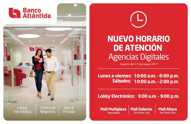 Horario Banco Atlantida