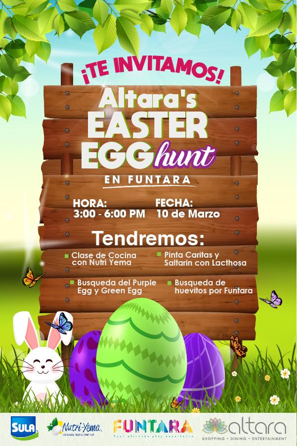 Altara's Easter Egg Hunt