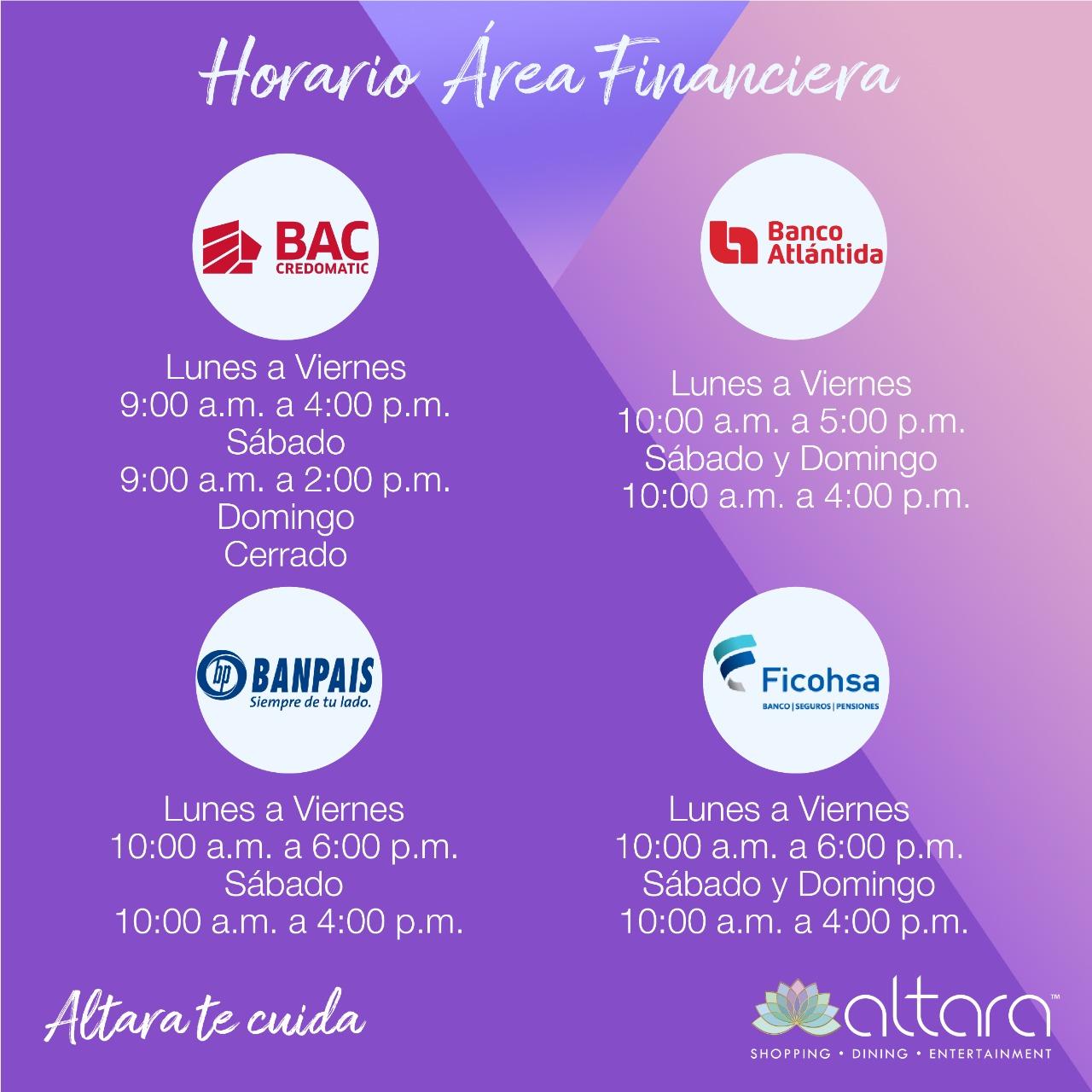 Horario Financiero