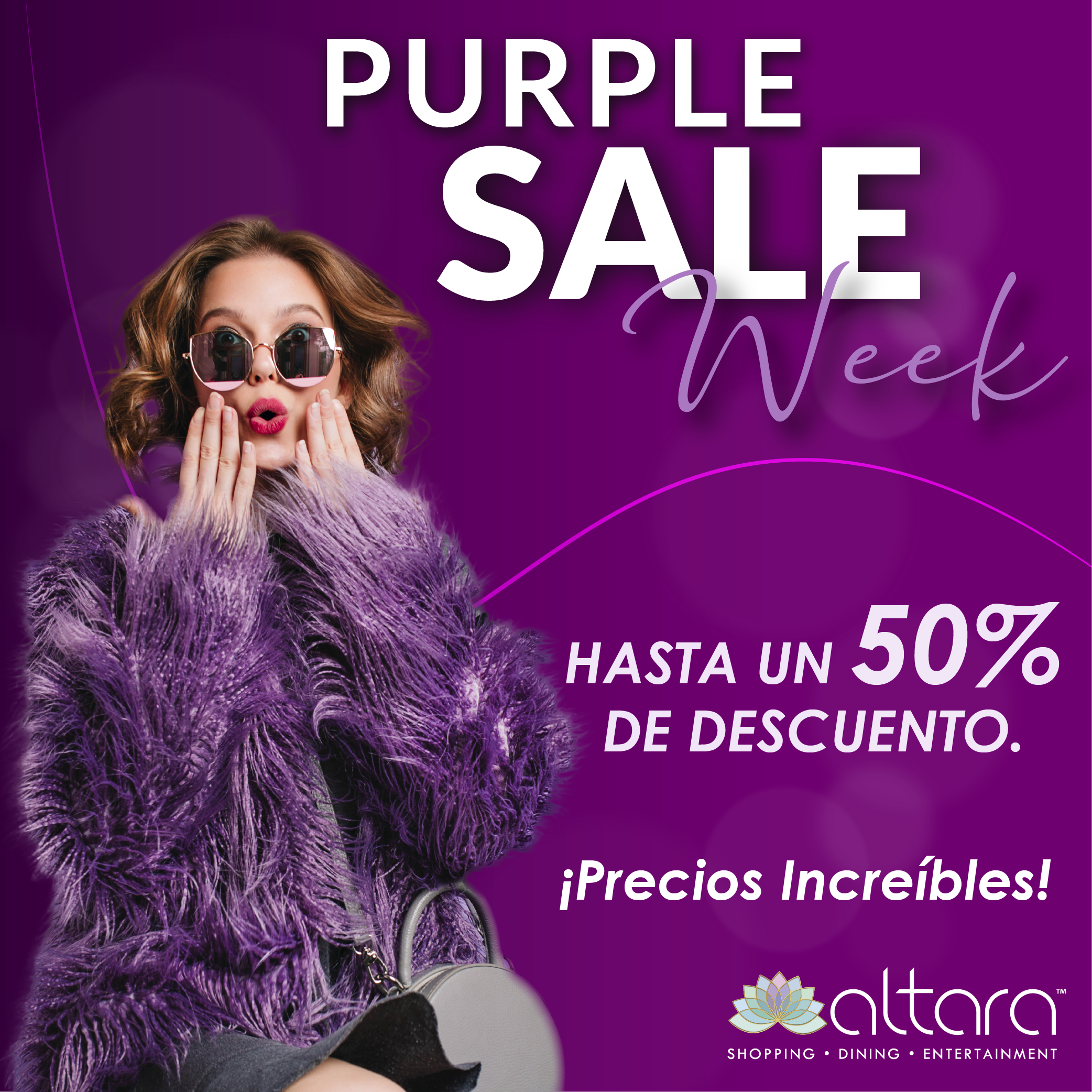Purple Sale Week!