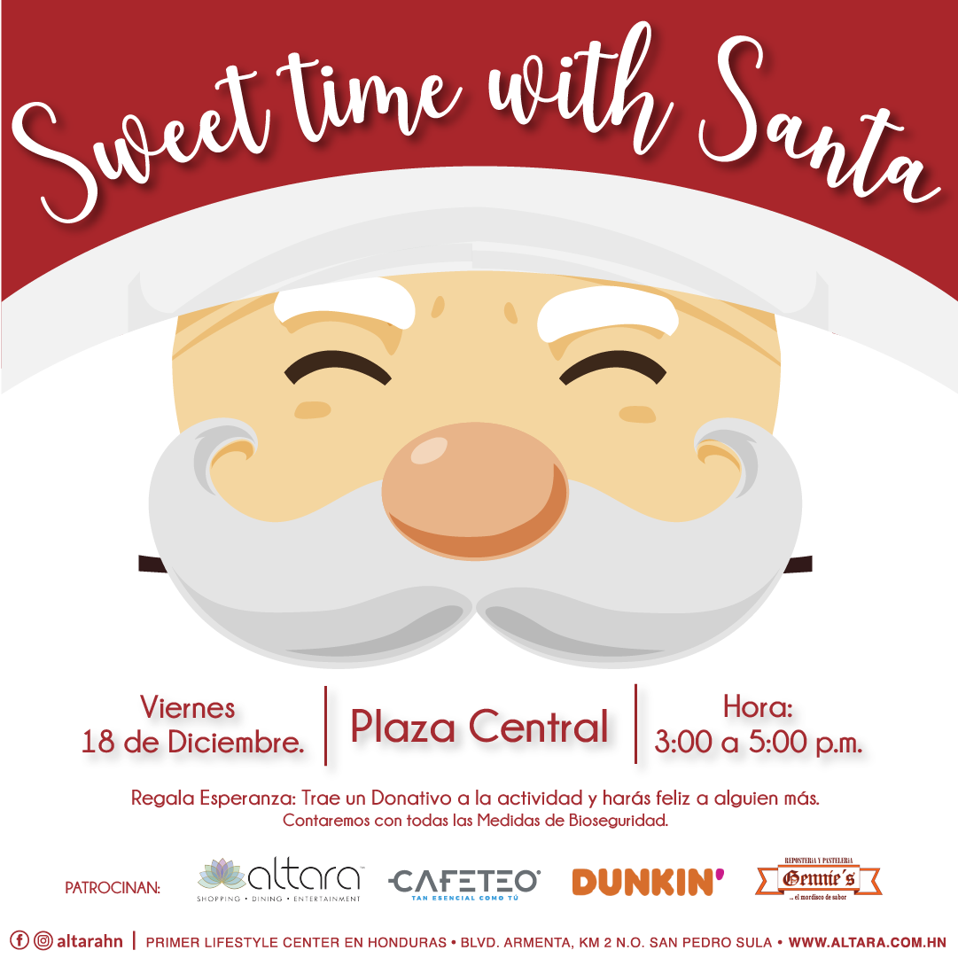 ¡Sweet Time with Santa!