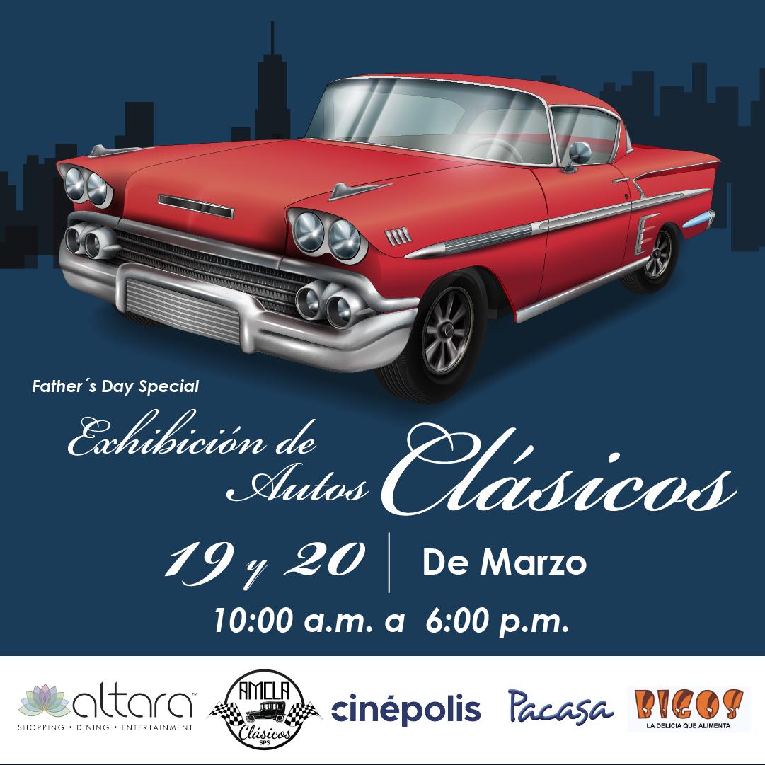 ¡Exhibición de Autos Clásicos para Papá!