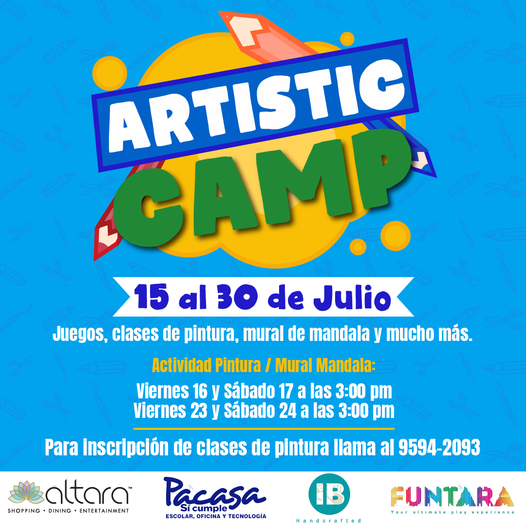 Artistic Camp!