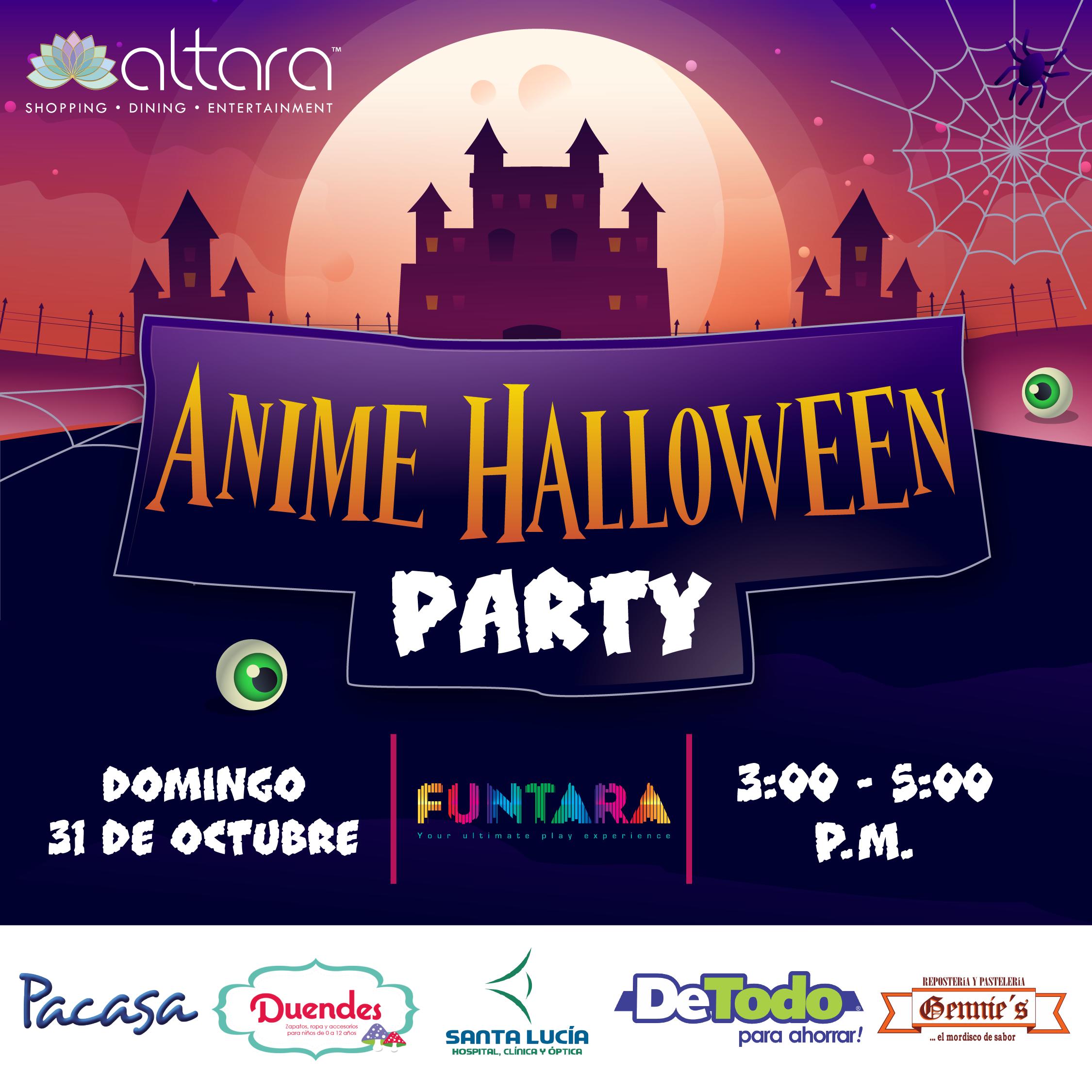 Anime halloween party!