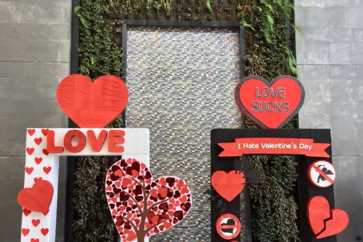 Un Cambio a tu día tradicional de San Valentín!