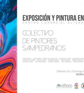 ¡EXPOSICIÓN Y PINTURA EN VIVO!