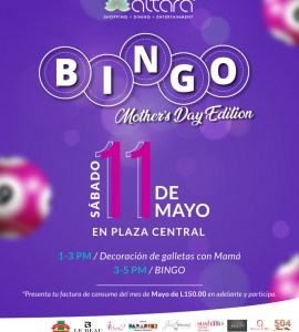 BINGO MOTHER´S DAY EDITION