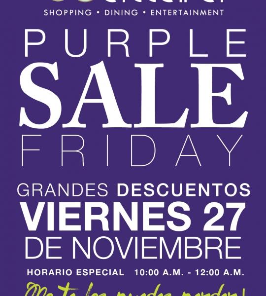 Purple Sale Friday