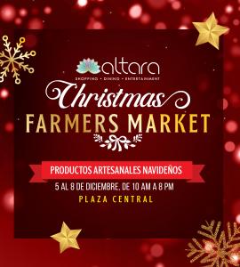 ¡CHRISTMAS FARMERS MARKET!