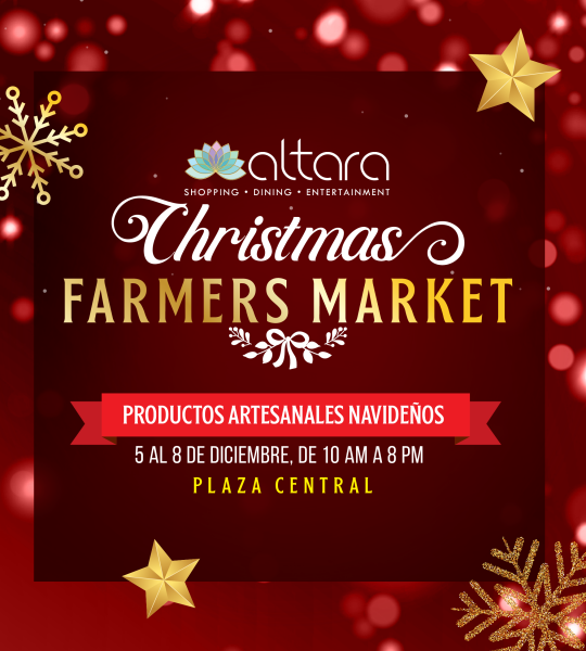 ¡CHRISTMAS FARMERS MARKET!