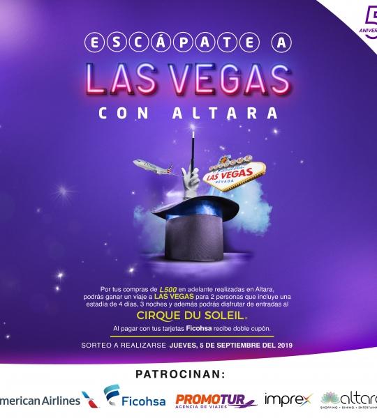 ¡Celebra nuestro 5to Aniversario y Escápate a las Vegas con Altara!