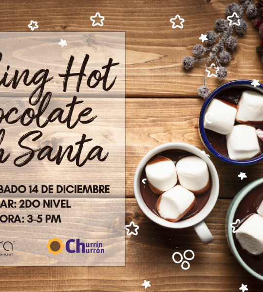 ¡Making Hot Chocolate With Santa!