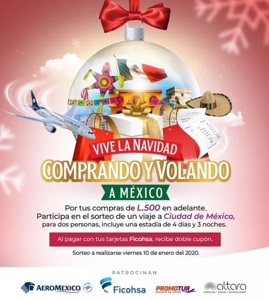 ¡Vive la Navidad, Comprando y Volando a México con Altara!