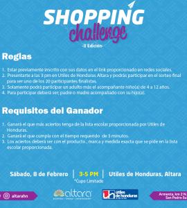Shopping Challenge II Edición