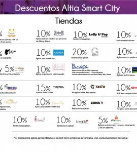 Descuentos Altia Smart City