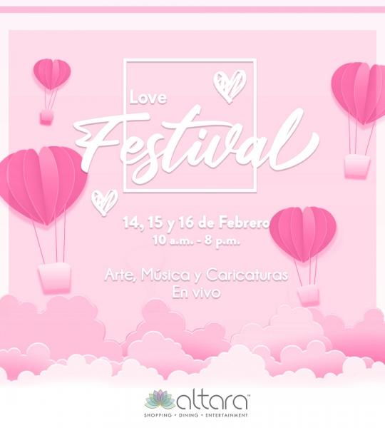 ¡Love Festival!